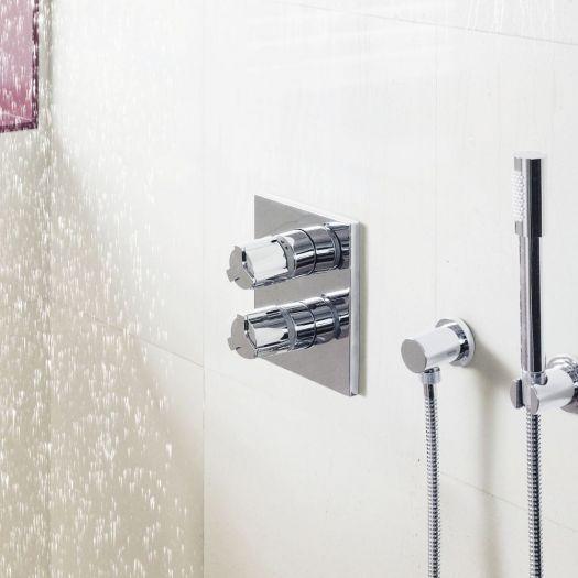Смеситель термостатический Grohe Allure 19380 000 для ванны и душа, внешняя часть