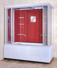 Душевая кабина Lanmeng LM-837TG красная