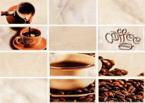 Декор Latte светло-бежевый Coffe 2 (LT2M302) 25x35