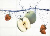 Декор Mono (MY2М303D) яблоко бел 25х35
