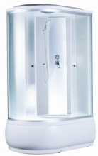 Душевая кабина AquaPulse 4106D fabric white