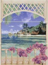 Панно Muza Bali 2 (C-MU2H454DTB) 80х60 (берег)