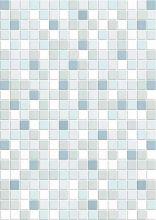 Плитка облицовочная Motive (MFM041D) голубая 25х35