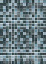Плитка облицовочная Motive (MFM341D) серо-голубая 25х35
