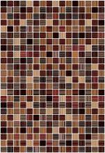 Гламур 3Т Плитка настенная коричневый 27,5х40