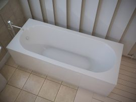 Ванна из литьевого мрамора AquaStone Наоми 180x80