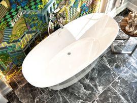 Ванна из литьевого мрамора AquaStone Ниагара 160x73