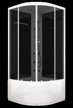Душевая кабина Domani-Spa Delight 99 High тонированная с блоком управления и гидромассажем