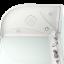 Душевая кабина Domani-Spa Delight 128 L/R High прозрачная с блоком управления и гидромассажем