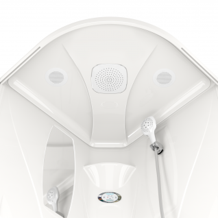 Душевая кабина Domani-Spa Elegance 99 тонированная 90x90