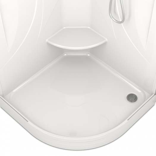 Душевая кабина Domani-Spa Elegance 99 прозрачная 90x90