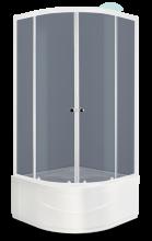 Душевой уголок Domani-Spa Fit 99 High тонированный 90x90