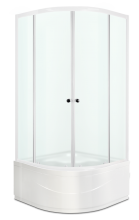 Душевой уголок Domani-Spa Fit 99 High матовый 90x90