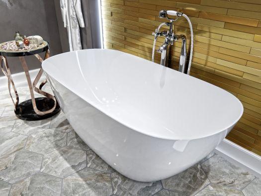 Ванна из искусственного камня AquaStone Бали 170x80 без перелива
