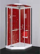 Душевая кабина Lanmeng LM-857 L красная