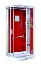 Душевая кабина Lanmeng LM-835G R красная