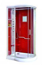 Душевая кабина Lanmeng LM-835G L красная