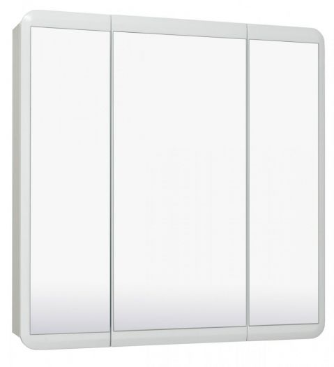 Шкаф зеркальный Runo Эрика 80