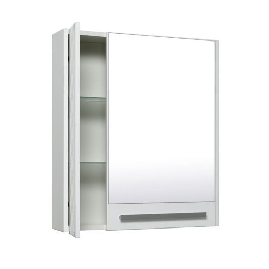 Шкаф зеркальный Runo Мира 75 R