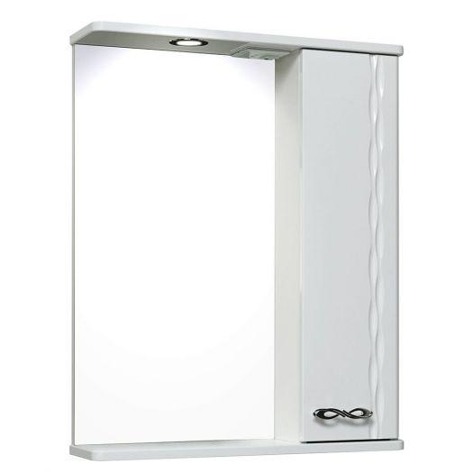 Шкаф зеркальный Лотос Runo 60 R