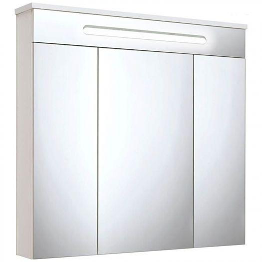 Шкаф зеркальный Runo Парма 75
