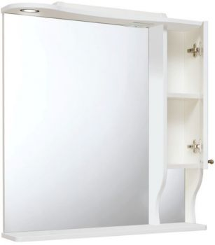 Зеркало-шкаф навесной Runo Кантри 75 R