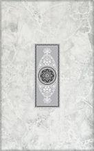Декор Цезарь 1 серый арт 342571