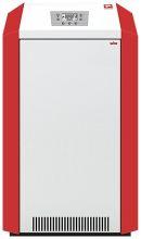 ЛЕМАКС Котел газовый чугунный, энергозавис, 40кВт гравитац и насосн. сист.( ТО Viadrus, клап.SIT, горелка Polidoro,плата Nordgas)
