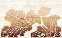 Декор Кензо №1 400х250 коричневый