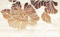 Декор Кензо №2 400х250 коричневый
