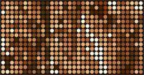 Декор Кристи коричневый 500х250