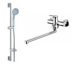 Комплект для ванны и душа комнаты Bravat 2-1 ELER F00449CP