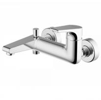 Смеситель для ванны и душа короткий излив Bravat Vega F6119177CP-01