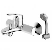 Смеситель для ванны и душа короткий излив Bravat Drop-d F648162C-B-RUS