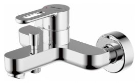 Смеситель для ванны и душа короткий излив Bravat Stream-d F637163C-01