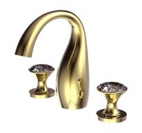 Смеситель для ванны и душа Bravat Swan F24287G-ENG