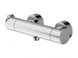 Смеситель для ванны и душа термостат Bravat Nizza F9353387CP-01-RUS