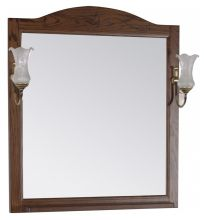 Шкаф-зеркало Солерно-105 ASB-Woodline