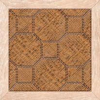 Плитка для пола Люкс 385х385 коричневая