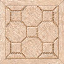 Плитка для пола Люкс 385х385 темно-коричневая