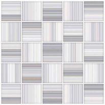 Плитка для пола Меланж мозаика 385х385 голубая