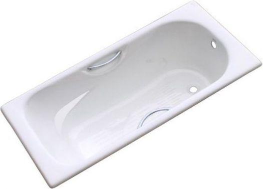 Ванна чугунная Goldman Donni 150х75 с ножками