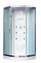 Душевая кабина Royal Bath RB100HK7-WT-CH с гидромассажем