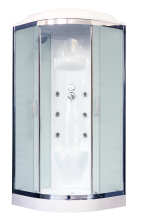 Душевая кабина Royal Bath RB100HK7-WC-CH с гидромассажем