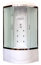 Душевая кабина Royal Bath 90BK3-WC-CH