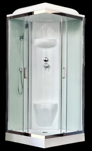 Душевая кабина Royal Bath 80HP6-WT-СН