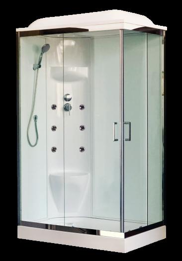 Душевая кабина Royal Bath 8120HP7-WT-СН