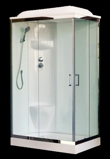 Душевая кабина Royal Bath 8120HP6-WT-СН