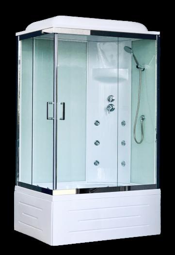 Душевая кабина Royal Bath 8100ВР3-WT-CH