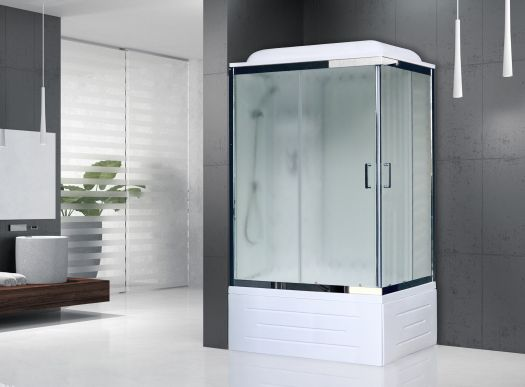 Душевая кабина Royal Bath 8100ВР6-WC-CH